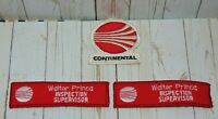 Vintage Defunct CONTINENTAL AIRLINES Airplane Patch's Inspection Supervisor RARE