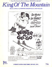 "Winter A-Go-Go Sheet Music ""King Of The Mountain"" James Stacy Beverly Adams"