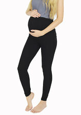New Thick Comfortable Maternity Cotton Leggings Full Length PREGNANCY V1