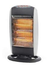 Prolectrix 1200W Halogen Heater Electric Portable Home Work Office Caravan 3 Bar