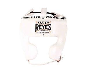 Cleto Reyes Fermé Visage Boxe Tête Protège Adulte Blanc Entrainement Coiffures