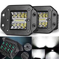 2x 39W LED Zusatzscheinwerfer Offroad Stoßstange bündiger Einbau Lampe für Jeep