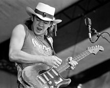 GLOSSY PHOTO PICTURE 8x10 Stevie Ray Vaughan Black And White