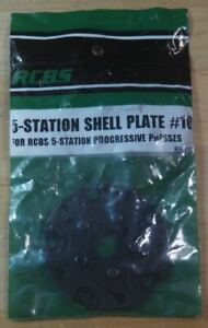 RCBS 5 Station Shell Plate #10-(88810)-NEW-.223 /.300 B.O-in package