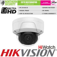 Hiwatch 4mm 4MP 30m Ir Poe P2P Dôme Onvif Réseau IP Maison Sécurité CCTV Caméra