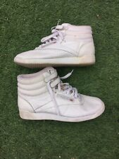 CLASSIC RETRO LADIES REEBOK HIGH TOP TRAINER BOOTS SIZE 5