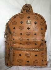MCM Tan Leather Tablet/Backpack/Shoulder Bag / Handbag