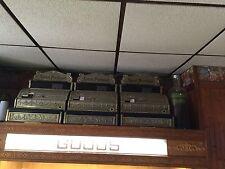 Vintage Cash Register Collection Brass 2114 Retail Store Novelty Money Lot
