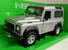 Nex models 1/24 Scale 22498 Land Rover Defender 90 Silver Diecast model car