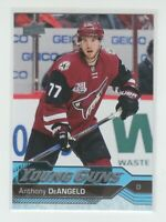 (75406) 2016-17 UPPER DECK YOUNG GUNS ANTHONY DeANGELO #463 RC