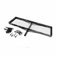 New Receiver Hitch W/ 60X20 Cargo Rack Jeep Wrangler Yj Tj Lj 87-06 11580.21