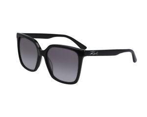KARL LAGERFELD KL Havane Noir Femme Plastique UV Shades Lunettes de soleil KS6004 013