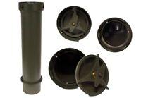 Army Munitionskiste Transportkiste rund Lagerrolle Wasserdicht Transportbox