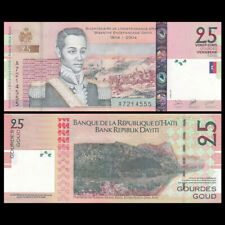 Haiti 25 Gourdes, 2004, P-273, UNC