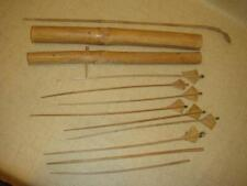 Vietnam Montagnard Arrows Quiver And For Crossbow ~ Soldier Bring Back