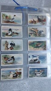 Players Cigarette Cards - Game Birds & Wild Fowl - Full Set Of 50
