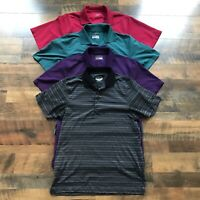 Grand Slam Golf Polo Shirt Lightweight Performance Men's Size Medium ~ Lot Of 4
