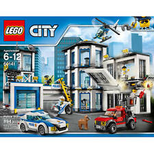 LEGO City 60141 Police Station 894 Pieces - New & Sealed