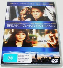 BREAKING AND ENTERING --(Dvd)