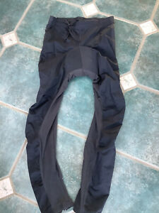 "new tags crane medium waist 32/34 "" cycle trousers cycling leggings leg zips"