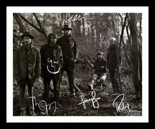 RADIOHEAD AUTOGRAPHED SIGNED & FRAMED PP POSTER PHOTO