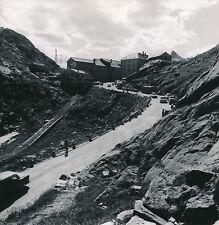 SUISSE c. 1959 - Autos Cars Col du Grand St Bernard Monastère - DIV 11574