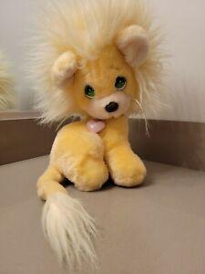 VINTAGE 1985 PRECIOUS MOMENTS CREME LION APPLAUSE Stuffed Animal Plush Toy Free