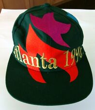 Olympics Games Atlanta 1996 Baseball Cap Embroidered Hat Adjustable Summer USA