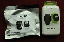 Kreyos Meteor Smartwatch + Male Wristband (Collector's Condition)