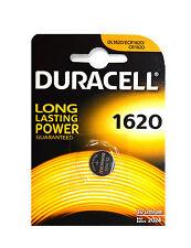 2 x CR1620 Duracell Knopfzellen Lithium Batterien battery DL1620. BR1620. 3 Volt