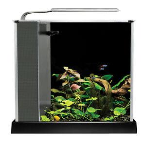 Fluval Spec 10 L  - Black Desktop Glass Aquarium LED high Output Light