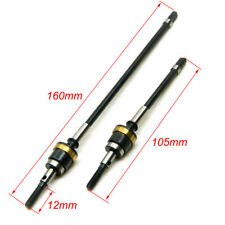 1 Pair HD Steel Front Axle CVD Drive Shafts Set For 1/10 RC Crawler Axial Wraith