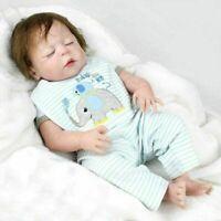 Reborn Baby Dolls Newborn Lifelike Silicone Vinyl Handmade Baby With Clothes