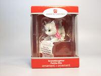 Carlton American Greetings Ornament 2010 Granddaughter - Kitten - #AXOR368X-DB