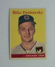 1958 Topps #135 Mike ( Moe ) Drabowsky Cubs  MINT