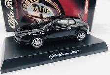 Kyosho 1/64 Alfa Romeo BRERA BLACK diecast car model