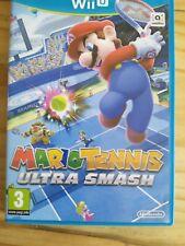 Mario Tennis Ultra Smash Nintendo Wii U Game, Boxed & Manuals, Fast Free UK...