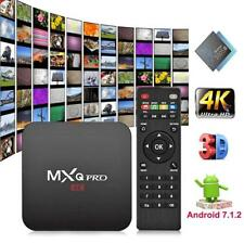 MXQ PRO Android 7.1 Quad Core 1+8G Smart TV Set-top Box Media Player 4Kx2K WIFI