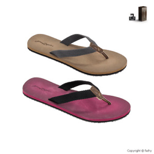 Fashy 7744 Toulon V-Strap Schuhe Damen Badepantoletten Zehentrenner