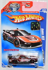HOT WHEELS 2009 HW RACING ACURA NSX #02/10 RED FACTORY SEALED