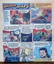 Beyond Mars by Jack Williamson - scarce full tab Sunday comic page Nov. 29, 1953