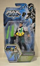 Max steel rip cord disc launcher action figure