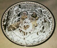 Plate Collectors Bradford Exchange Wolf Native