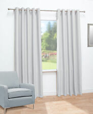 Thermal Blackout Ready Made Eyelet Curtains - Dimout Energy Saving