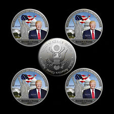 Donald Trump 45th President US Commemorative Coin Make American Great Again New
