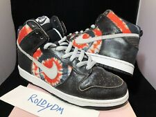 Nike SB Dunk High Pro HUF Size 10 Tie Dye 2004 VNDS QS Cement Lobster Skunk