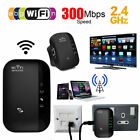 300Mbps Wireless WiFi Repeater Signal Super Booster Amplifier Range Extender CS
