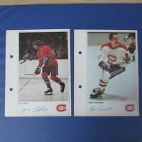 MONTREAL CANADIENS (18 diff) 1971-72  Action TORONTO SUN 5X7 Guy Lafleur ++ 1972