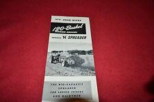 John Deere Model N Manure Spreader Dealer's Brochure HVPA