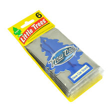 Little Trees Car Air Freshener New Car Scent, (Pack of 6)